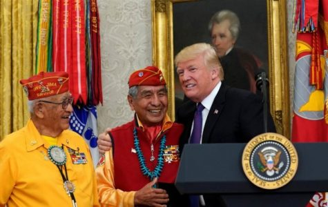 Trump Wrong to Mock Warren at Navajo Veterans Ceremony