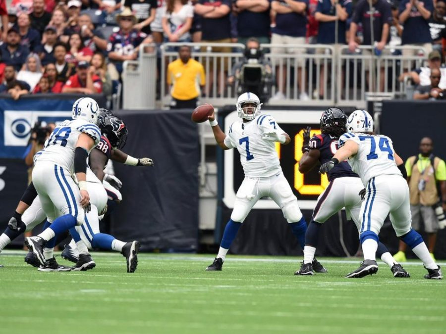 Indianapolis Colts quarterback Jacoby Brissett has been a consistent fantasy scorer since assuming the signal calling duties for Indianapolis in Week 2.  Brissett's 126 fantasy points this season rank him above big name QB's such as reigning MVP, Matt Ryan and Derek Carr. (Via colts.com)