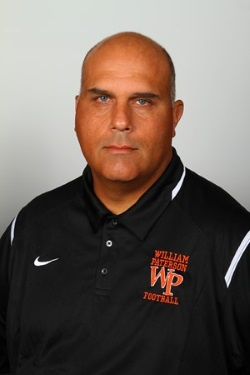 Jerry Flora compiled a 33-67 (.330) over 10 seasons as the head coach of the William Paterson University football team.