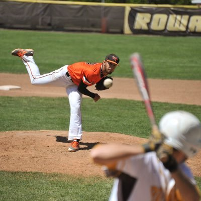 William Paterson University pitcher, Eric Rosenberg, delivering a pitch against Rowan University in the second round of the New Jersey Athletic Conference tournament on May 5, 2016.