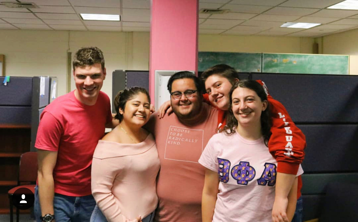 The executive board of the Intersectional Queer Association