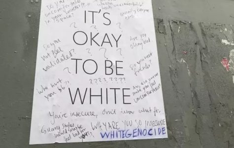 'It's Okay To Be White' Campaign Causes Concern Across Campus