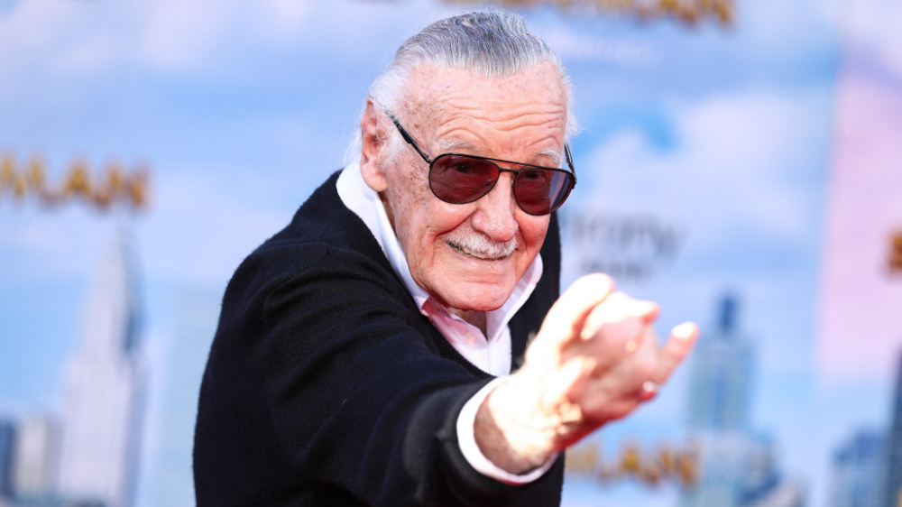 Mandatory Credit: Photo by John Salangsang/REX/Shutterstock (8882774ab) Stan Lee 'Spider-Man: Homecoming' film premiere, Arrivals, Los Angeles, USA - 28 Jun 2017
