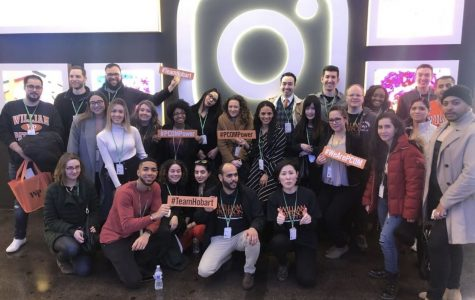 WP Communication Students visit Facebook/Instagram NYC office