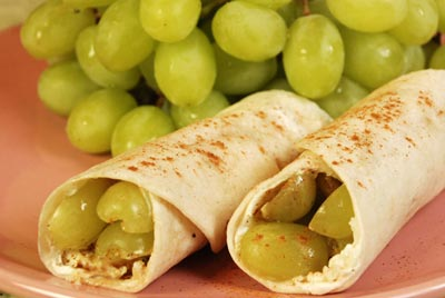 Grape Tortillas are the newest gourmet meal at the William Paterson food court