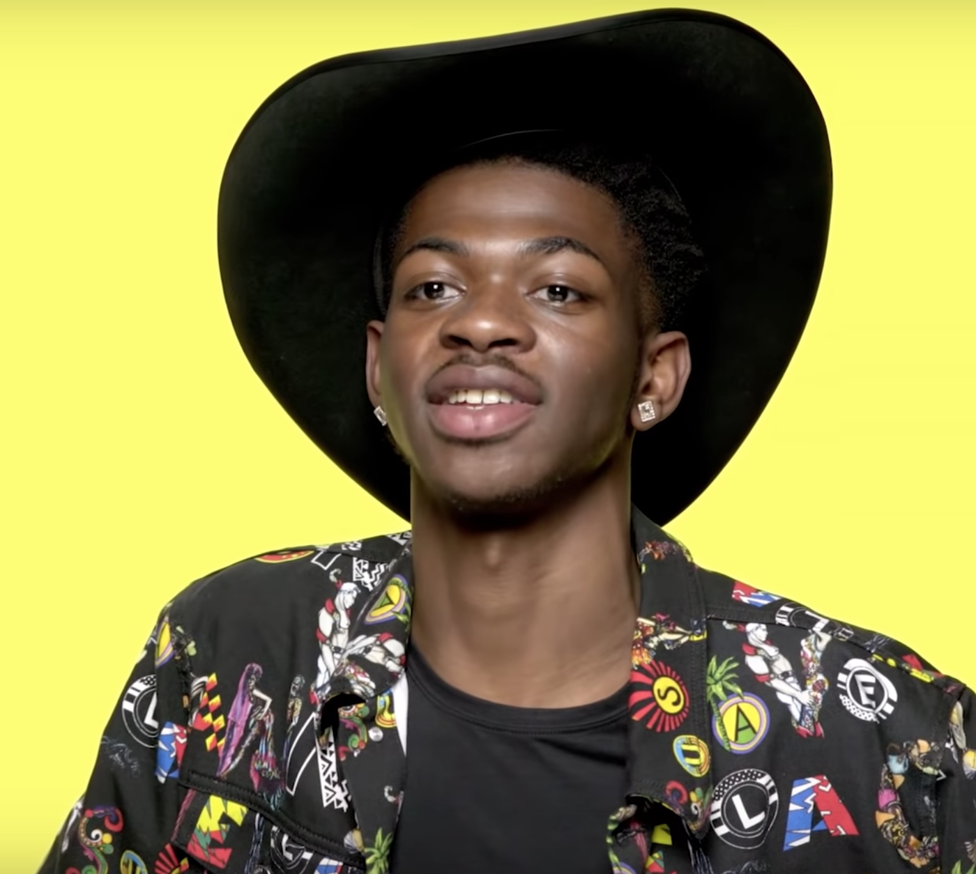 Lil Nas X speaking at his interview at Genius.