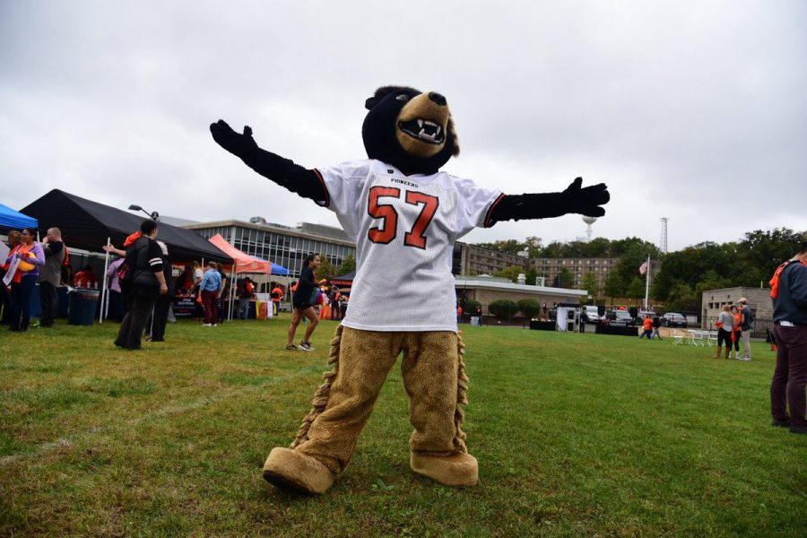Billy+the+Bear+runs+for+William+Paterson+University+President