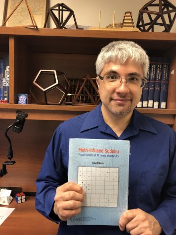 In this Version of Sudoku, Professor David Nacin Makes the Numbers Matter
