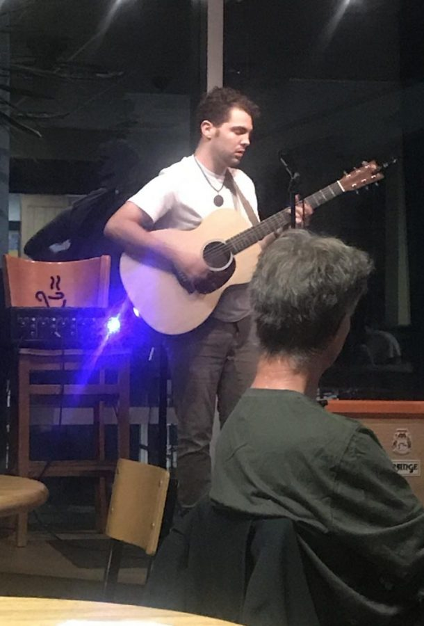 Ryan Kleber plays an acoustic original. Courtesy of Christie Dix