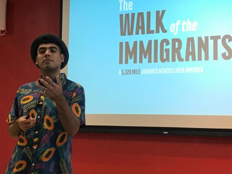 "Saul Flores, ""Walk of Immigrants"" Photojournalist, Opens Latinx Celebration"