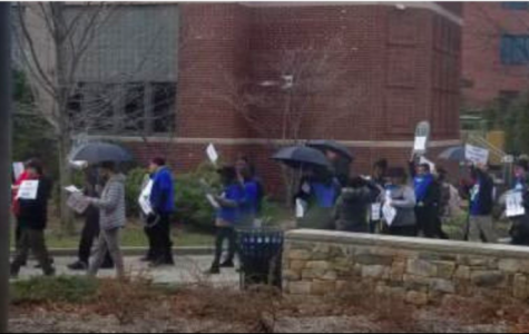 AFT Union March on Campus
