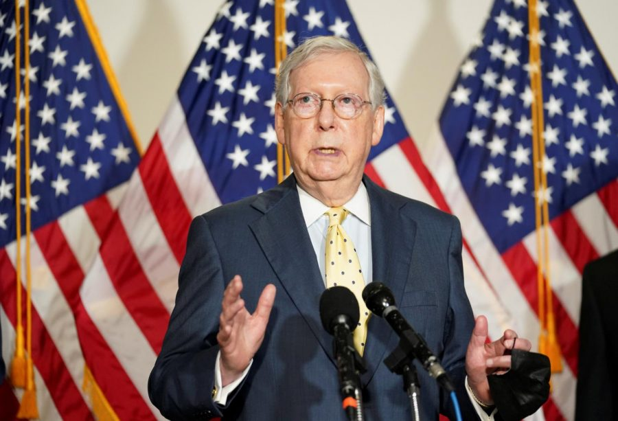 Senate Majority Leader Mitch McConnell. Credit: Kevin Lamarque / Reuters.