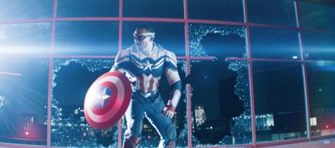 """Sam Wilson (Anthony Mackie) as Captain America in """"The Falcon and The Winter Solder"""" Image Credit: Marvel Studios"""